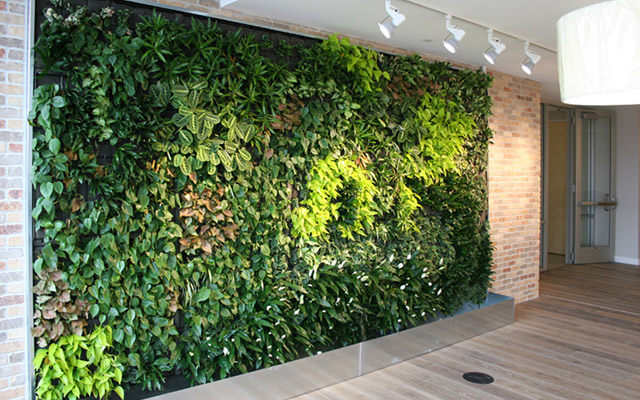 jasa pembuatan vertical garden Sintetis