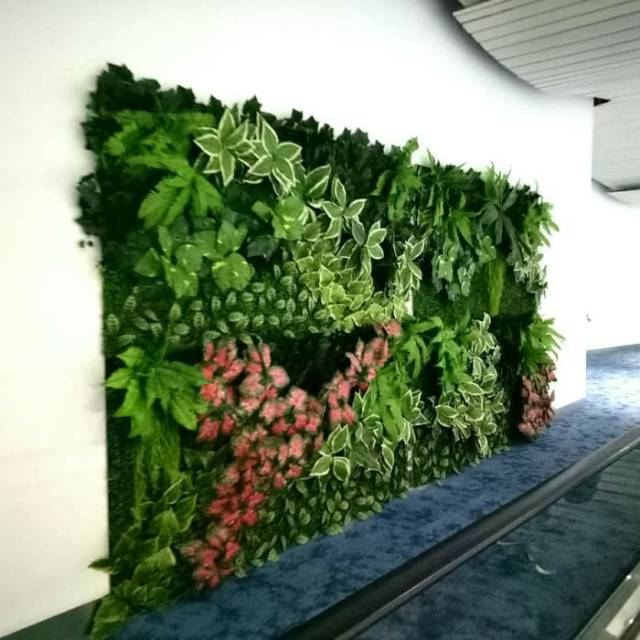 Jasa Pembuatan Vertical Garden Sintetis BSD